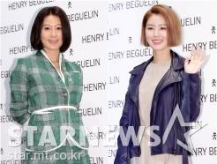 김희애-김성령, '나이 가늠하기 힘든 미모'