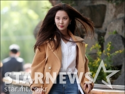 서현, '긴 생머리 휘날리며'