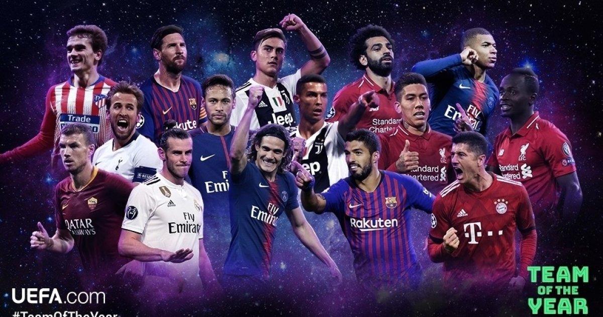 '레알 9명-맨유 1명'...UEFA, 올해의 팀 후보 50人 발표