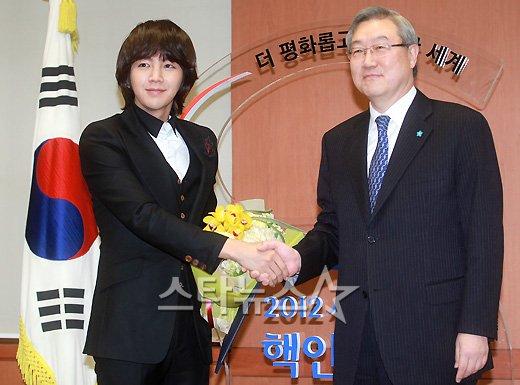 [★포토]장근석, '서울 핵안보정상회의 홍보대사에요'