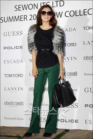 [★포토]김성은 '한겨울 패션의 정석?'