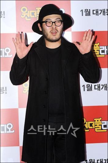 [★포토]김기방 '오늘 콘셉트는 블랙'