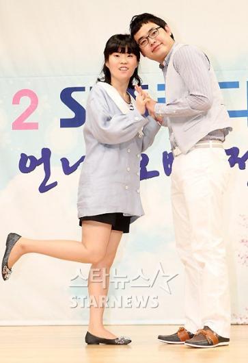 [★포토]박영진-박지선, 우리 잘 어울리나요?