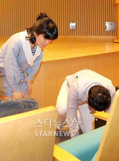 [★포토]박영진-박지선, 예의가 넘치네!