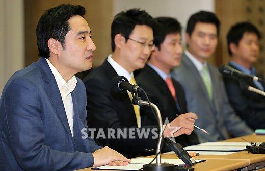 [★포토]사과하는 강용석 전 의원