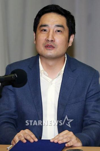 """[★포토]강용석, """"공식적인 자리서 사과하고 싶었다"""""""