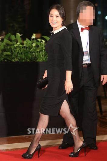 [★포토]박지영, '오늘 스타일 어때요?'