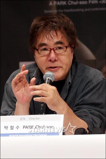 """[★포토]박철수 감독 """"소설을 영화로 옮겼다"""""""