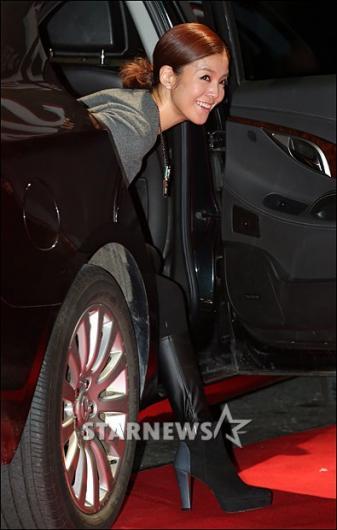 [★포토]김성은 '많이들 오셨나?'
