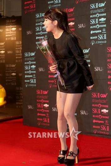 [★포토]수지, '아찔한 초미니'