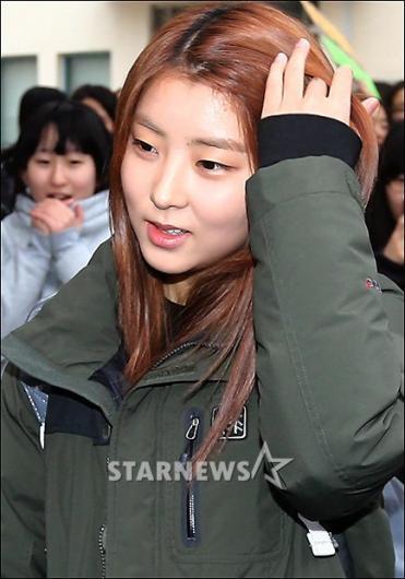 [★포토]권소현 '긴장된 표정이 역력하네!'