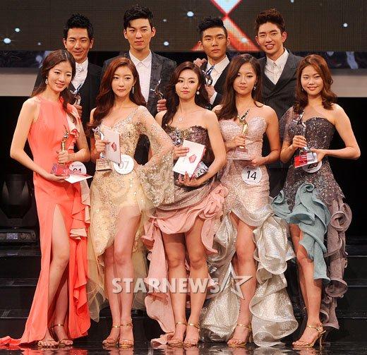 [★포토]2012 슈퍼모델 선발대회 영광의 주역들!