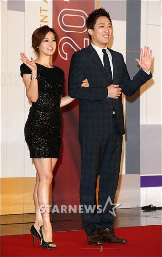 [★포토]박은경-김환 '최고 아나운서들 왔어요'