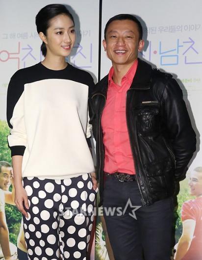 [★포토]계륜미-양아체 감독, 영화 '여친남친' 사랑해주세요!