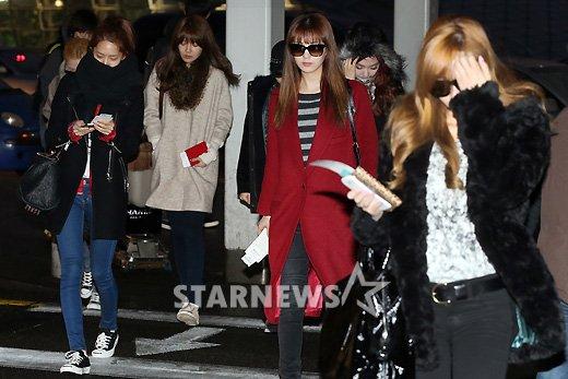 [★포토]소녀시대, 소녀들의 다양한 공항패션