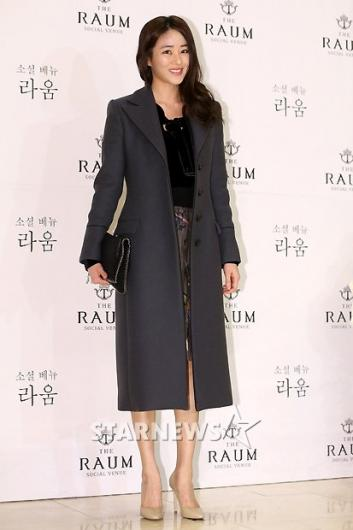 [★포토]김효진, 코트로 우아하게!