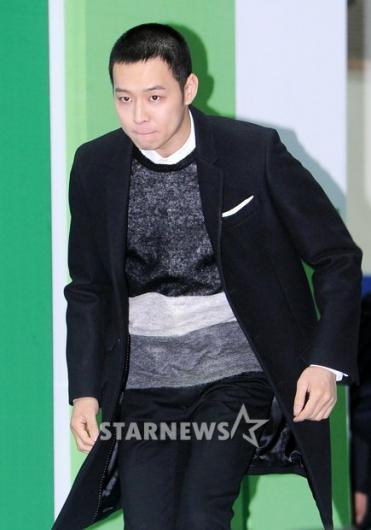 [★포토]박유천 '짧아진 머리!'