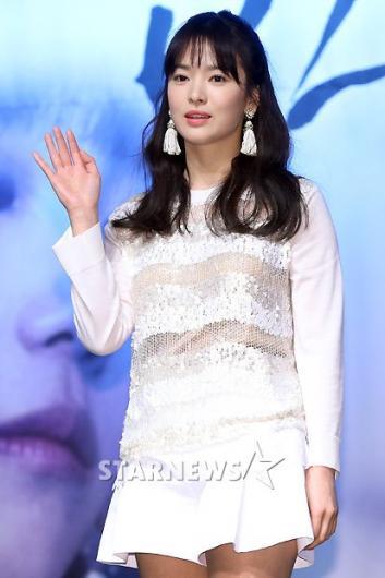 [★포토]송혜교, '브라운관 복귀 기대하세요!'