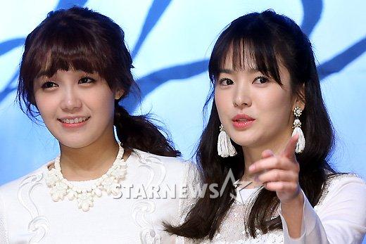 [★포토]송혜교, '은지야 이쪽을 봐야지'