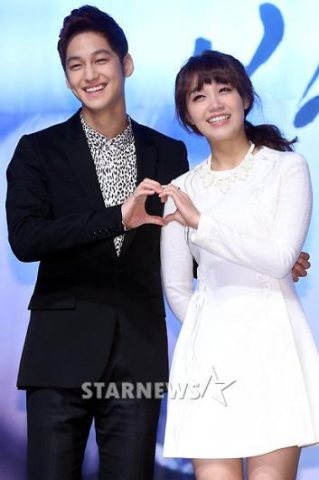 [★포토]김범-정은지, '커플연기 기대하세요'