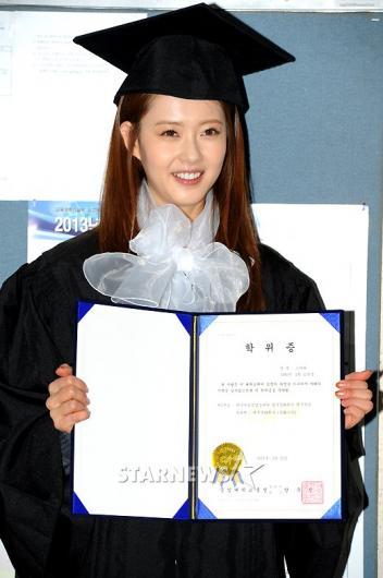 [★포토]해맑은 고아라 '저 졸업했어요!'