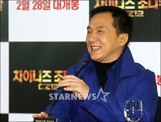 [★포토]성룡 '넉넉한 미소'