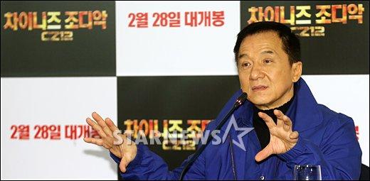 [★포토]성룡 '액션연기 오래오래 하고 싶어'
