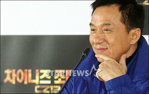 [★포토]성룡 '차이니즈 조디악 기대하세요'