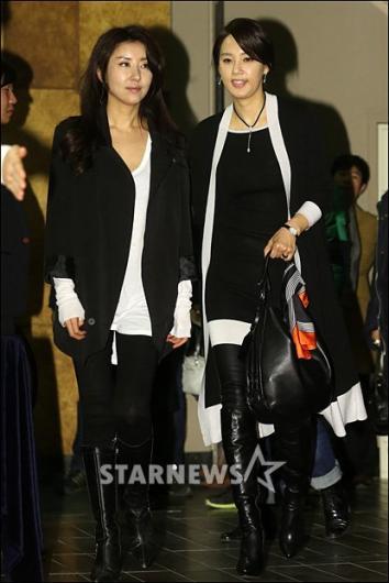 [★포토]오현경-김완선 '블랙으로 맞춰 입고 왔어요'