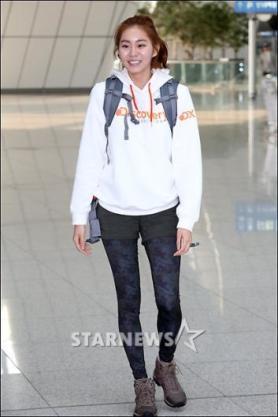 유이, '맨발의 친구들' 첫 녹화현장