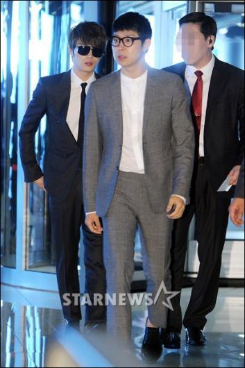 [★포토]박유천-김재중 '결혼식장을 런웨이로!'