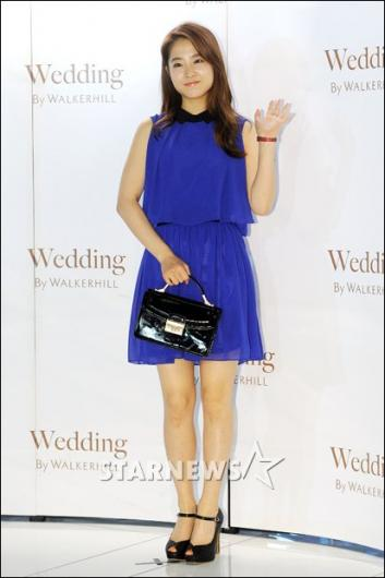 [★포토]박보영, 더운 여름엔 시원한 블루 드레스