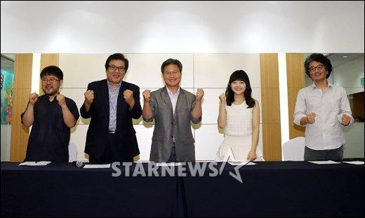 """[★포토]""""'꾸러기 케라톱스 코리요' 파이팅!"""""""