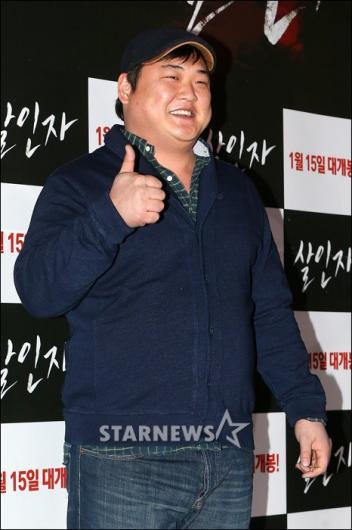 [★포토]김준현, 영화 '살인자' 기대됩니다!