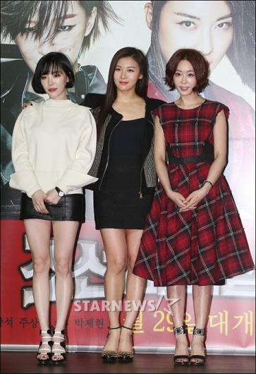 [★포토]가인-하지원-강예원 '조선 미녀 삼총사에요!'