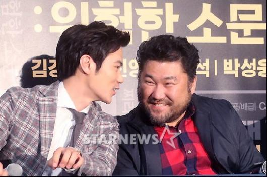 [★포토]김강우-고창석, 즐거운 수다