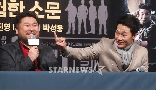 [★포토]박성웅 '감독님, 다음영화출연도 약속!'