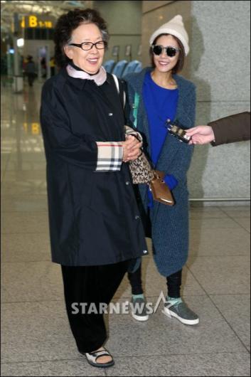 [★포토]나문희-이윤지, 홍콩으로 떠나볼까?