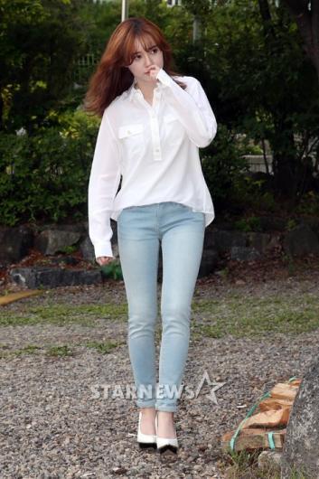 [★포토]구혜선, 청바지에 화이트 셔츠로 시선 집중!
