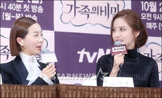 [★포토]유서진-신동미, '올해 나란히 결혼해요'