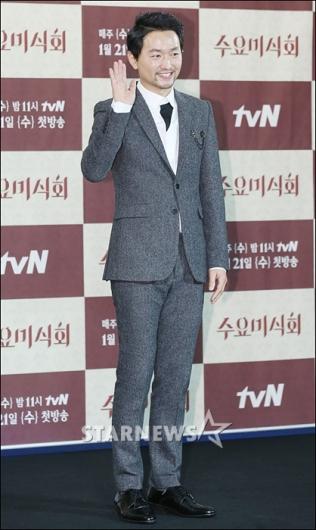 [★포토]김유석 '신사들의 맛집 소개할게요'