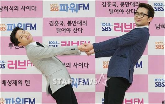 [★포토]양세형-윤형빈 '사이좋은 투맨'