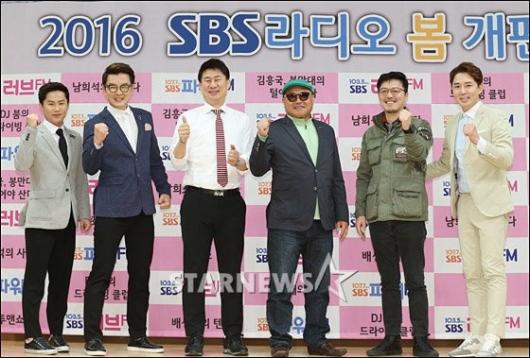 [★포토]SBS 라디오 봄 개편 새 DJ들