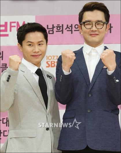 [★포토]양세형-윤형빈 '투맨쇼 화이팅'
