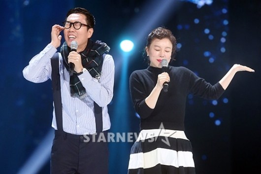 [★포토]최화정-김영철, 라디오의 스승과 제자