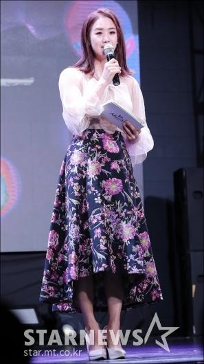 [★포토]이지애, '화사한 봄 패션'