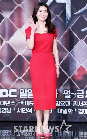 [★포토]이일화, '레드 여신'