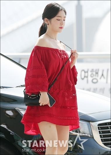 [★포토]아이린, '한 여름 휴양지 패션'
