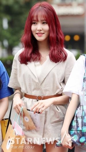 [★포토]유주, '인어공주처럼 빨간머리'