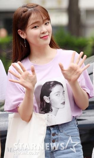 [★포토]승희, '귀엽다 귀여워'